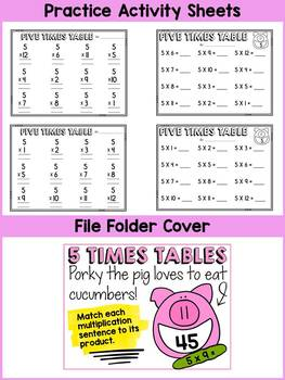 5 TIMES TABLES CENTER ACTIVITY: MULTIPLICATION