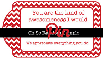 5 Teacher Appreciation Tags