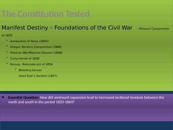 5. The Civil War - Lesson 4 of 8 - Expansion Compromises