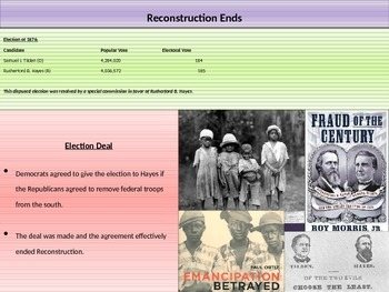 5. The Civil War - Lesson 7 of 8 - Reconstruction