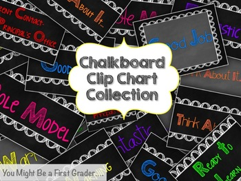 5 Themed Clip Chart Collections