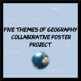 5 Themes of Geography Poster Project with Rubric