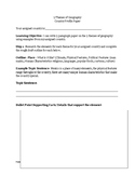 5 Themes of Geography Country Profile Essay Assignment