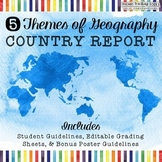 5 Themes of Geography Country Report