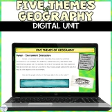 5 Themes of Geography Digital Distance Learning Unit