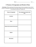 Applying the 5 Themes of Geography - A Film Guide
