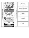5 Themes of Geography Foldable