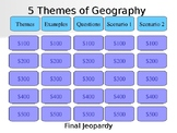 5 Themes of Geography Jeopardy
