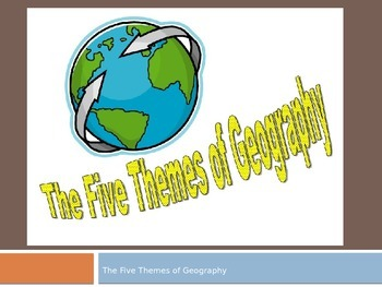 5 Themes of Geography Powerpoint