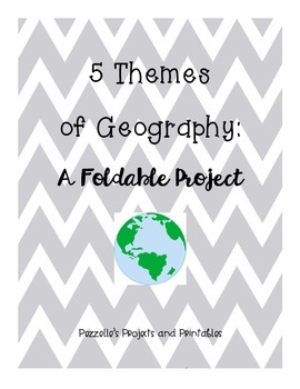 6th grade geography scaffolded notes resources lesson plans 5 themes of geography project fandeluxe Image collections