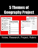 5 Themes of Geography Project