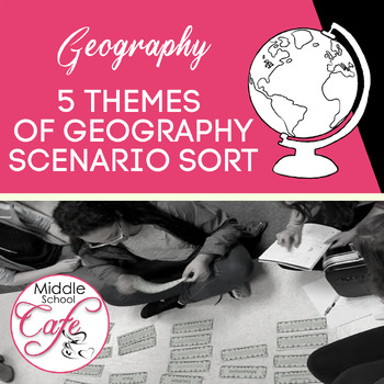 5 Themes of Geography Scenario Sort Cards