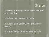 5 Themes of Geography Slideshow Presentation