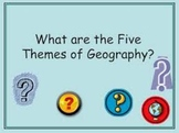 5 Themes of Geography and You!