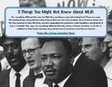 5 Things You Might Not Know About MLK!