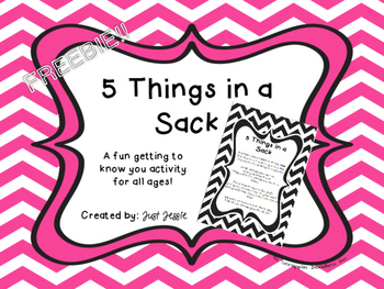 5 Things in a Sack