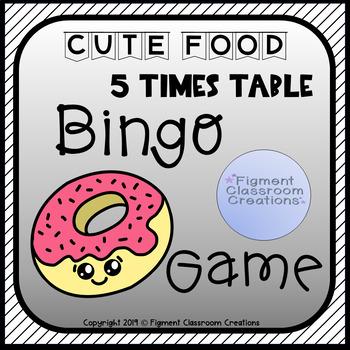 5 Times Table Bingo Game