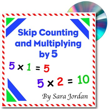 Skip Counting & Multiplying by 5 - Song w/ Lyrics & Activi