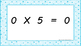 5 Times Table Warm Up ACARA C2C Common Core aligned PowerPoint
