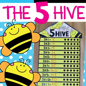 5 Times Tables Craft