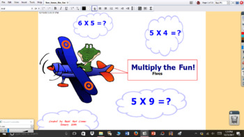 5 Times the Fun multiplication interactive flipchart