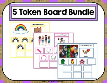 5 Token Board Bundle - 10 Token