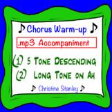 Chorus 5 Tone Warm-up .mp3 Sing-a-long Dual Purpose Accompaniment