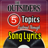 """Topics from """"The Outsiders"""" Explored through Song Lyrics -"""
