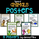 5 Types of Animal Posters