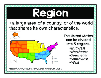 5 U. S. Regions & Their Climates