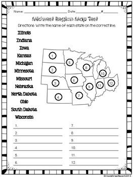US Regions Bundle Southwest Southeast Northeast Midwest