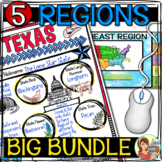 5 Regions of the United States BIG BUNDLE