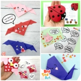 5 Valentine's Paper Folding Projects - Origami Cards & Boo