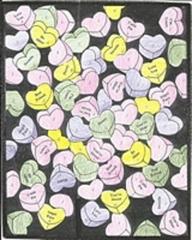5 Valentines Day Color by Number Pages, Hearts, Flowers, Roses, Candy Hearts