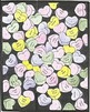 5 Valentines Day Color by Number Pages, Hearts, Flowers, R