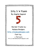 Silly 5 W Poem Activity