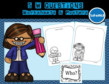 5 W's Worksheets