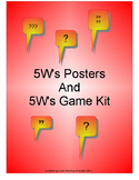 5-W's Game and Poster Set