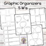 Graphic Organizers  5 W's  (20)