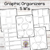 5 W's Graphic Organizers (20)
