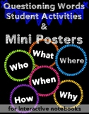 5 W's and How: Interactive Activities and Mini-Posters
