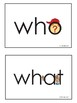 Sight Words Question Words - Eyewords 5 Ws and an H