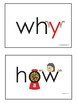 Sight Words Question Words - Eyewords 5 W's and an H