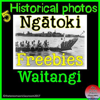 5     WAITANGI  HISTORICAL photos ***Freebie***
