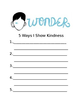 5 Ways I Show Kindness