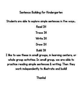 5 Ways! Sentence Fun