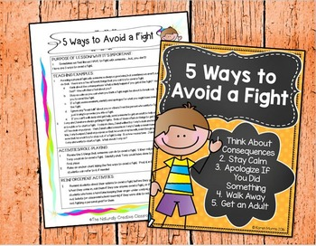 5 Ways To Avoid a Fight