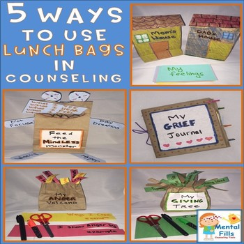 5 Ways To Use Lunch Bags in Counseling and Therapy