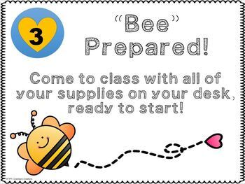 "5 Ways to ""Bee"" in the Classroom (Rules)"