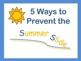 5 Ways to Prevent Summer Slide